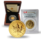 Canadian Gold Maple Leafs & Collectibles