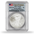 American Silver Eagles -  PCGS Graded