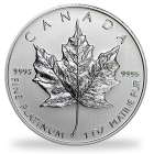 Canadian Platinum Maple Leaf Coin