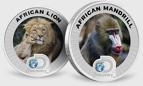 Discovery Africa Silver Coins