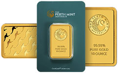 10 oz Gold Bullion Bars