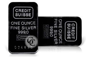 Buying Credit Suisse Silver Bars