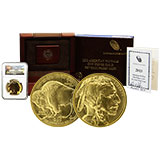 Early Release / First Strike Gold Buffalo Coins