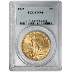Common Date $20 St. Gaudens
