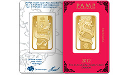 Pamp Suisse Dragon Gold Bars