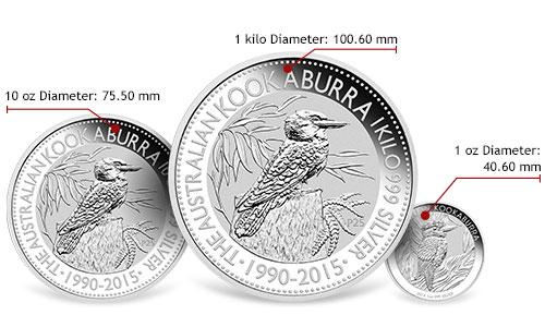 Australian Silver Kookaburra Gainesville Coins Learning