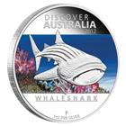 2012 1 oz Proof Silver Discover Australia - Whale Shark