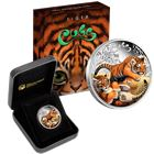 2016 Tiger Cubs Silver Proof Coin 1/2 oz  (Box and COA)