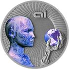 2016 Artificial Intelligence 2 oz Silver Coin $2 Niue