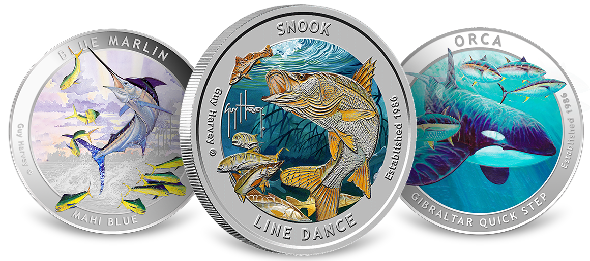 Guy Harvey Silver Rounds