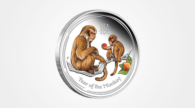 2016 Lunar Monkey 1/2 oz Silver Colorized Proof Coin Product Video