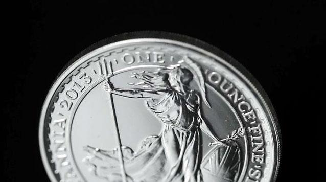 2013 1 oz Silver Britannia Coin