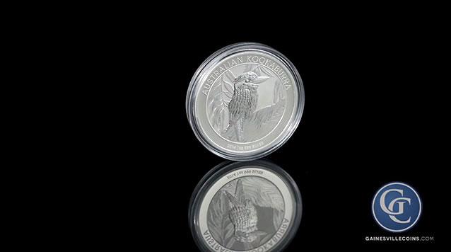 2014 1 oz Silver Kookaburra