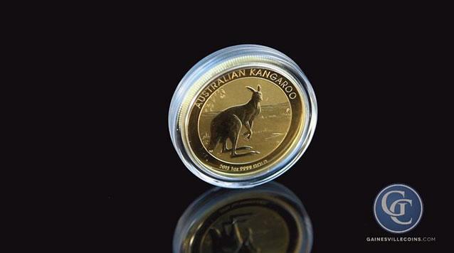 2013 1oz Perth Mint Gold Kangaroo Coin