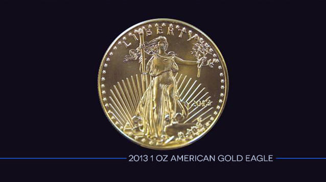 2013 American Gold Eagles