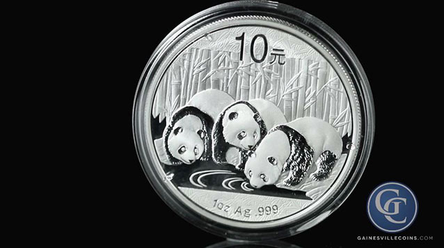 2013 1 oz Silver Chinese Panda Coins