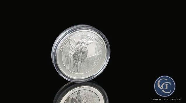 2014 10 oz Australian Silver Kookaburra