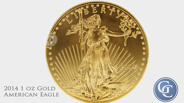 American Gold Eagle 1 oz