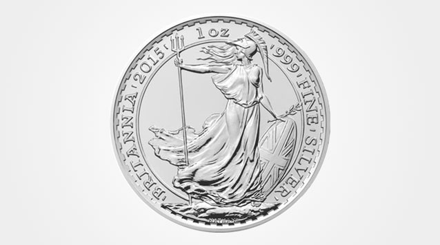 2015 Silver Britannia 1 oz coin Product Video