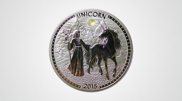20 g Proof Silver Unicorn Product Video