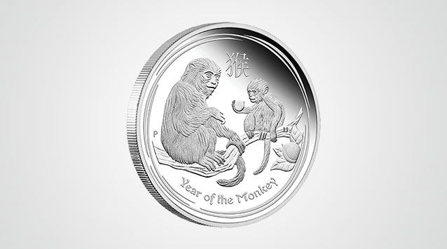 2016 Lunar Monkey 1 Oz Proof Silver Coin - Australia Product Video