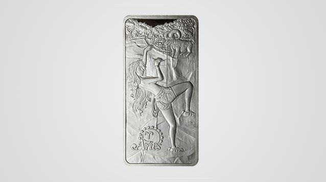 Aries 10 oz Silver Bar - Zodiac Life Series Product Video
