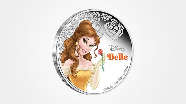 2015 1oz Belle Disney Proof Silver Coin