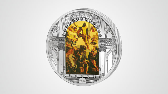 2016 Masterpieces Of Art Easter Resurrection 3 oz Proof Silver Coin Product Video