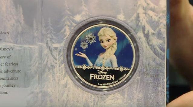 Product Review On 2016 Disney Frozen Elsa 1 oz Proof Silver