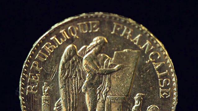 French 20 Franc Gold Angel