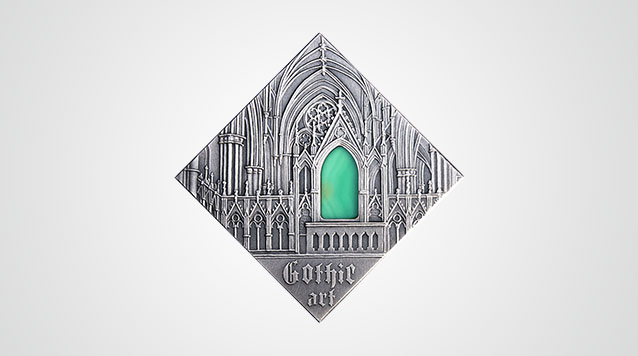 Art That Changed The World Silver Coin - Gothic Niue $1 Product Video