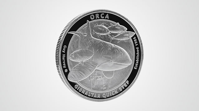 2016 Guy Harvey© Orca 1 oz Silver Round Video
