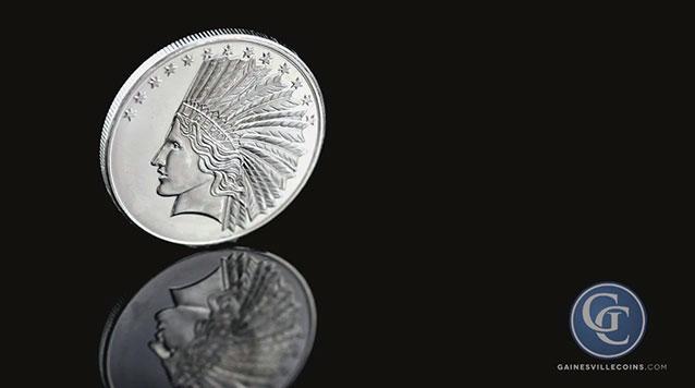 1 oz Indian Head Silver Round
