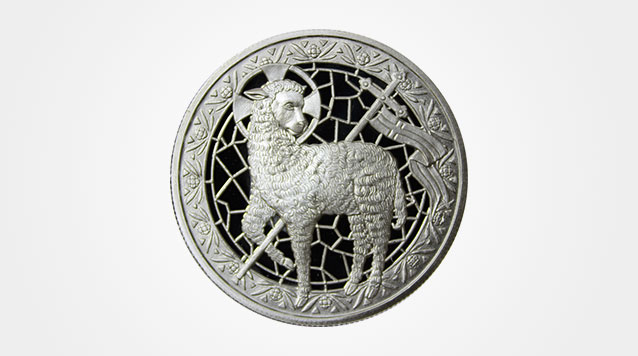 Lamb of God 1 oz Silver Round Product Video