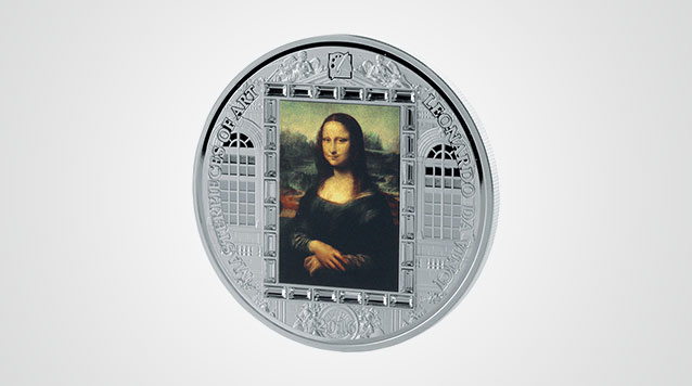 2016 Masterpieces Of Art Leonardo Da Vinci Mona Lisa 3 oz Proof Silver Coin Product Video