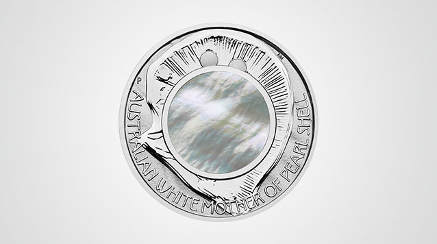 2015 Mother of Pearl 1 oz Silver Proof Coin - $1 Australia Product Video