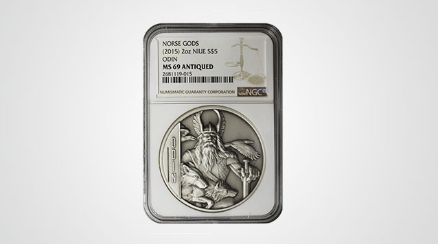Odin 2 oz Double-Sided Ultra High Relief Silver Coin NGC MS69 $5 Niue Product Video