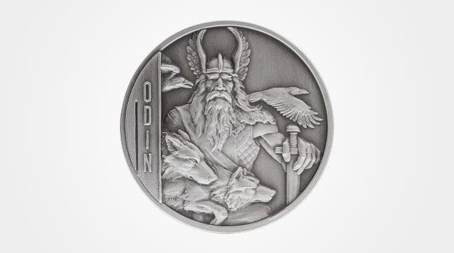 Odin 2 oz Double-Sided Ultra High Relief Silver Coin Product Video