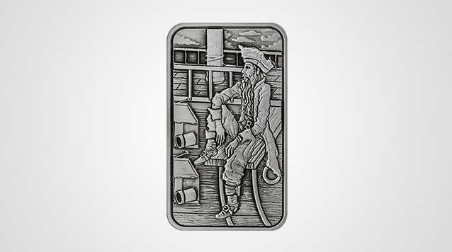 5 oz Buccaneer High Relief Silver Bar Product Video