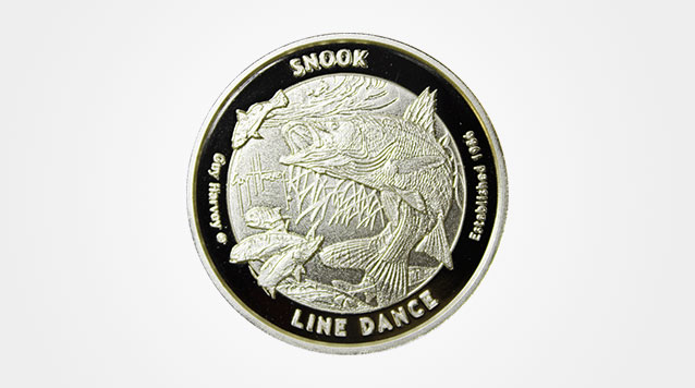 2016 Guy Harvey© Proof Silver Snook Line Dance 1 oz Product Video