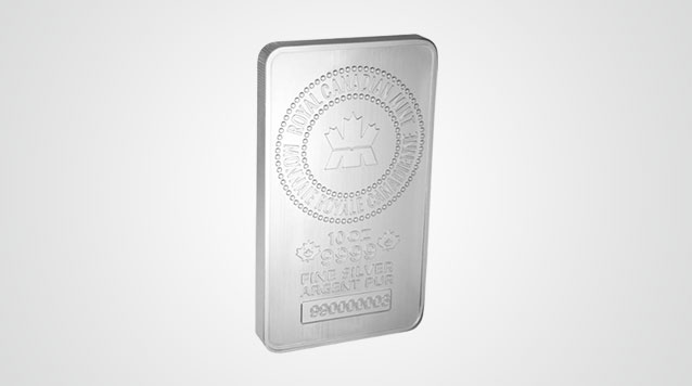 Royal Canadian Mint 10 oz Silver Bar Video