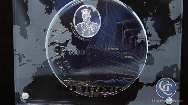 1 Kilo RMS Titanic Silver Coin