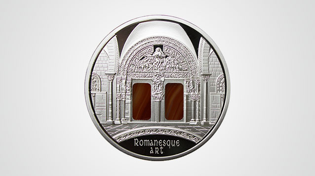 2014 Art That Changed The World Silver Coin - Romanesque Niue $10 Product Video