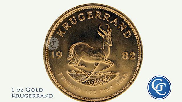 South African Gold Krugerrands