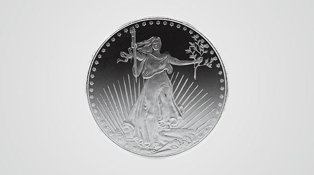 Saint Gaudens Design 1 oz Silver Round Product Video