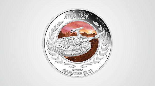Star Trek Enterprise NX-01 Proof Silver Coin Video
