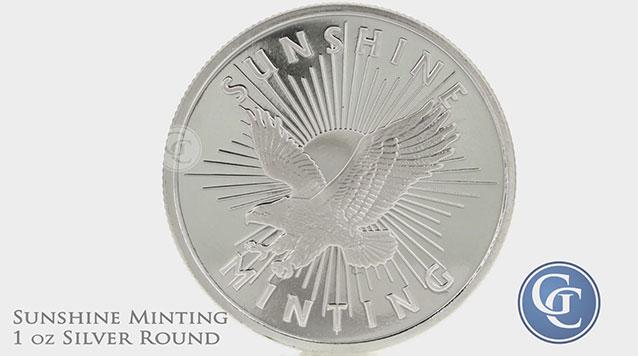 Sunshine Minting 1 oz Silver Round