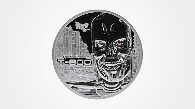 Terminator T-800 1 oz Silver Coin Product Video