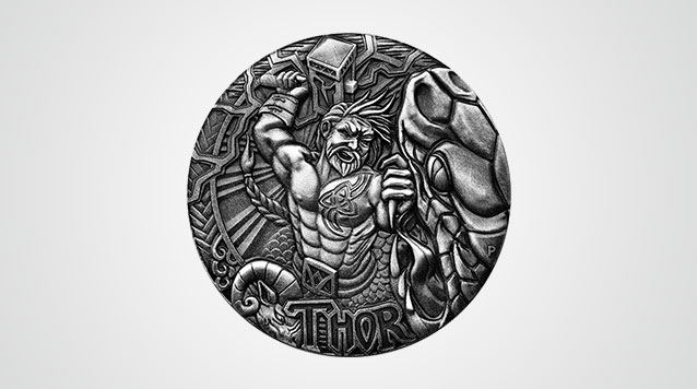 2016 Thor Norse God 2 Oz High Relief Silver Coin Australia Perth Mint - Box And COA Product Video