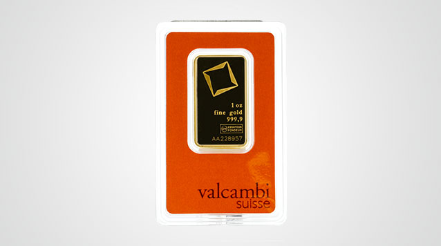 1 oz Valcambi Gold Bar Product Video